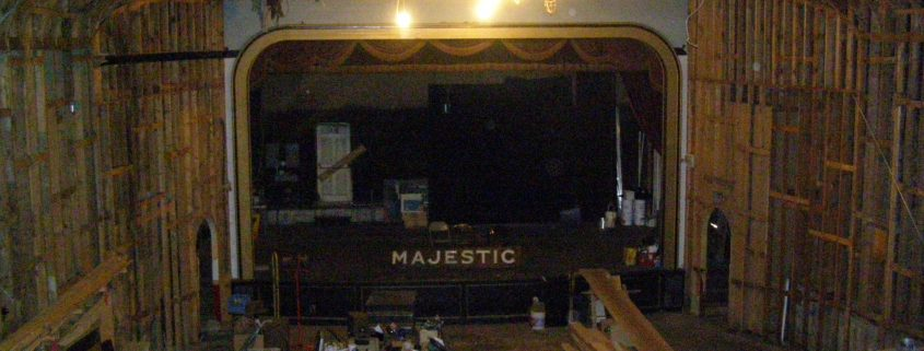 Majestic Theater Stage